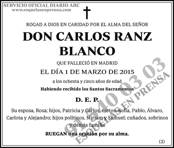 Carlos Ranz Blanco